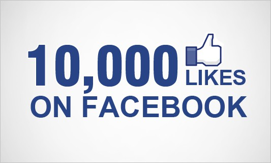 10,000 Fans on Facebook | The Curb Market